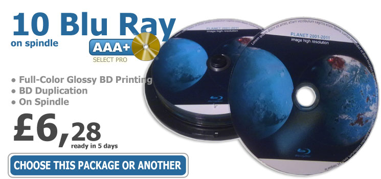 Online Short-Run Blu Ray Duplication