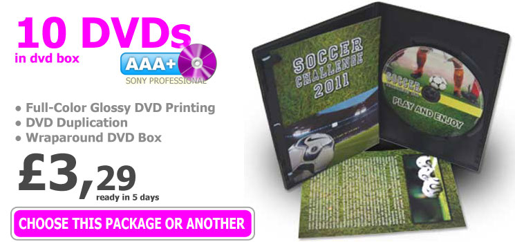 Online Short-Run DVD Duplication
