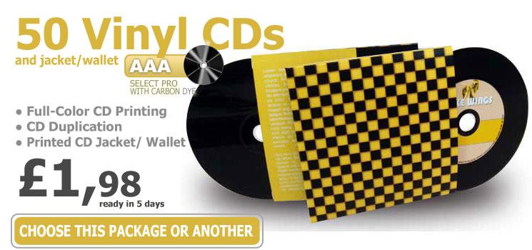 CD Vinyl Look, CD Duplication