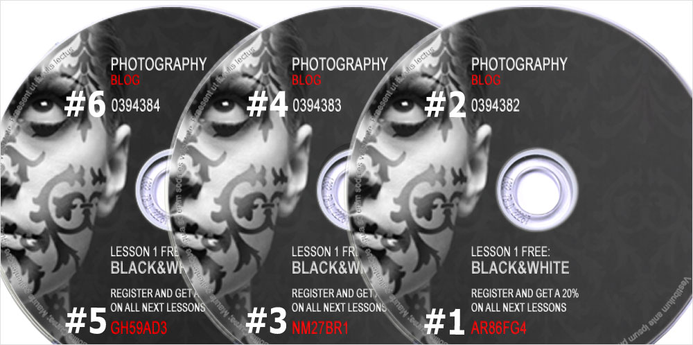 Photo CD DVD Blu Ray.