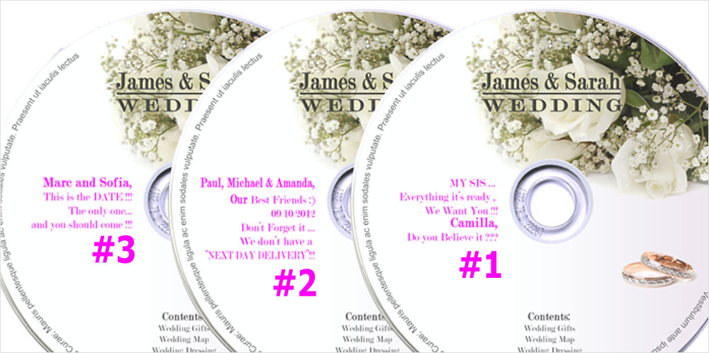CD Wedding Invitations | Favors